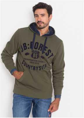 Sweatshirts oder Sweatjacken für Herren bei bonprix