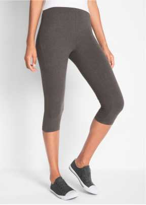 OCEAN Sportswear Capri 34 bis 42 grau weiß 3//4 Hose Sport Haremshose neu