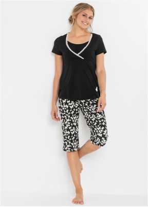 sommer Collection Hoher Tragekomfort Damen Pyjama Shorty