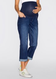 Umstandsjeans, 7/8-Länge, bpc bonprix collection, darkblue stone