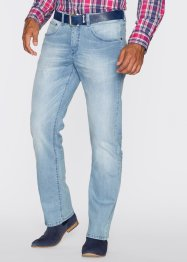 Straight Leg-Jeans im Regular Fit, bpc selection, hellblau