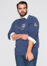 Pullover im Regular Fit, bpc selection, indigo