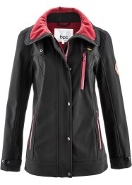 Stretch-Softshell-Jacke, bpc bonprix collection, schwarz