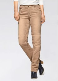 Stretch-Cordhose, John Baner JEANSWEAR, goldgelb used