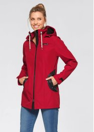 Stretch-Softshelljacke, bpc bonprix collection, dunkelrot