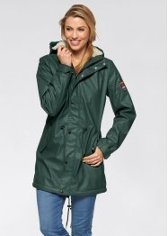 Outdoor-Langjacke mit Teddyfleece, bpc bonprix collection