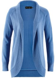 Strickjacke, bpc selection, kristallblau