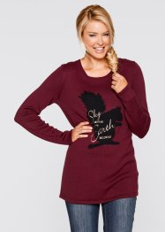 Langarmpullover mit Motiv, bpc bonprix collection