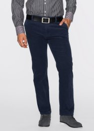 Chino-Stretchcordhose Regular Fit, bpc selection, dunkelblau