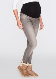 Umstandsjeans, Skinny, bpc bonprix collection, grey denim