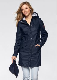Funktions-Outdoorjacke mit Hut, bpc bonprix collection, dunkelblau