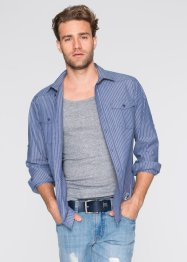 Langarmhemd Regular Fit, John Baner JEANSWEAR, hummer gestreift