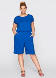 Jersey-Jumpsuit, bpc bonprix collection, azurblau