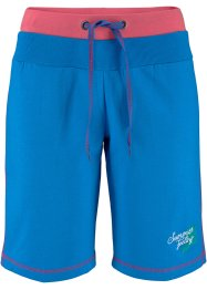 Sweat-Shorts, bpc bonprix collection, meeresblau