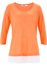 2-in-1-Flammgarn-Pullover, bpc bonprix collection