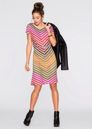 Shirtkleid, RAINBOW, grau gestreift