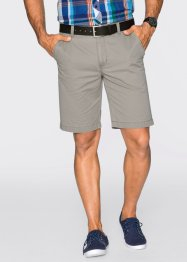 Chino-Shorts Regular Fit Straight, bpc bonprix collection, stein