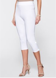 Capri-Leggings mit Nieten, bpc selection, nektarine