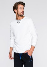 2-in-1-Langarmshirt Regular Fit, bpc bonprix collection, dunkeloliv