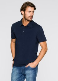 Stretch-Poloshirt Slim Fit, bpc bonprix collection, weiß