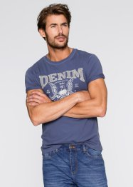 T-Shirt Regular Fit, John Baner JEANSWEAR, indigo