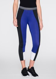 Wadenlange Funktions-Leggings, bpc bonprix collection, hellgrau meliert gemustert