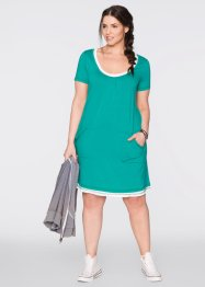 Strandkleid, bpc bonprix collection, smaragd