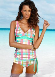 Tankini Oberteil, bpc bonprix collection, rosa/hellblau