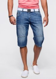 Jeans-Longbermuda Loose Fit, RAINBOW, anthracite denim