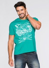 T-Shirt mit Druck Regular Fit, John Baner JEANSWEAR, hummer