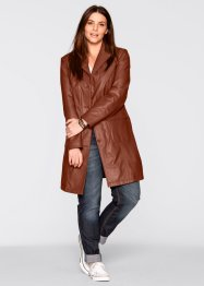 Leder-Gehrock, bpc bonprix collection, cognac