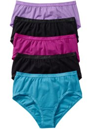 Maxislip (5er-Pack), bpc bonprix collection, multi