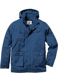 Leicht wattierte Langjacke Regular Fit, bpc bonprix collection, blau