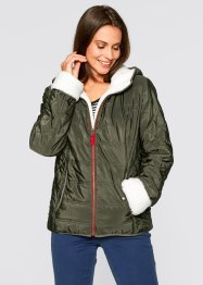 Kapuzenjacke, bpc bonprix collection, dunkeloliv