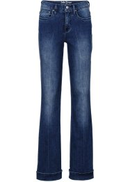 Stretch-Jeans im Flared-Look, John Baner JEANSWEAR, blau