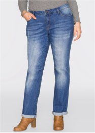 Stretch-Jeans Straight, John Baner JEANSWEAR, blau