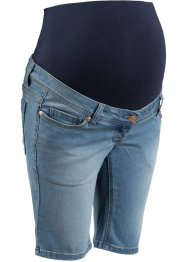 Umstands-Jeansshorts, bpc bonprix collection, medium blue bleached