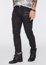 Super-Stretch-Jeans Slim Fit Straight, RAINBOW, black denim