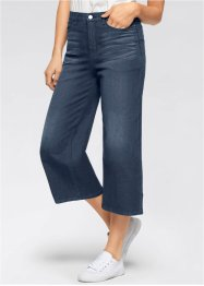 Stretch-Jeans, 3/4, EXTRA-WIDE, John Baner JEANSWEAR, weiss twill