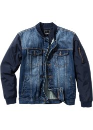 Jeansjacke Regular Fit, RAINBOW, blue used