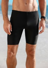 Badehose Herren, bpc bonprix collection, schwarz