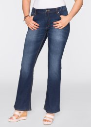 Stretch-Jeans im Flared-Stil, BODYFLIRT, dark denim