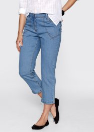 7/8-Stretch-Jeans, bpc bonprix collection, medium blue bleached