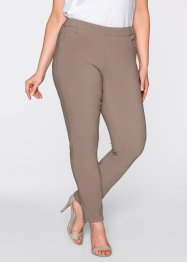 Shirt-Stretchhose, bpc bonprix collection, Shirt-Stretchhose taupe