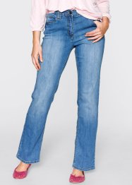 Gerade geschnittene Stretch-Jeans, bpc bonprix collection, medium blue bleached