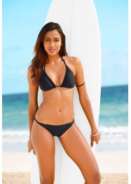 Triangel Bikini, bpc bonprix collection, schwarz