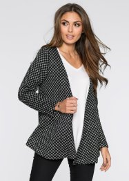 Strickjacke, BODYFLIRT, black/white