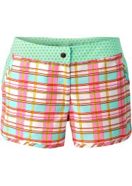 Strandshorts, bpc bonprix collection, rosa/türkis