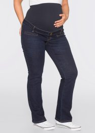 Umstandsjeans im Bootcut, bpc bonprix collection, darkblue stone
