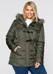 Leichte Steppjacke mit Daunenanteil, bpc bonprix collection, ahornrot